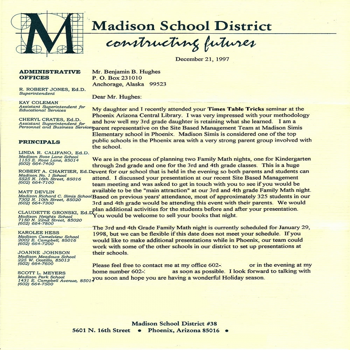 "Madison School District impressed with ""Times Table Tricks"""