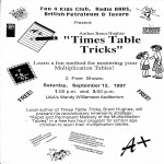 Fox 4 Kids Club - Tricks to learn your Multiplication tables