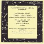 Mastering your multiplication tables in Valdez Alaska